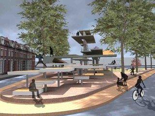 Espace public à Lille