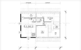R+1 Extension maison individuelle