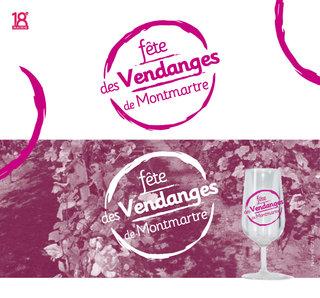 Conception de logo / Fête des vendanges de Montmartre