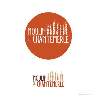 Création du logo / Moulin de Chantemerle