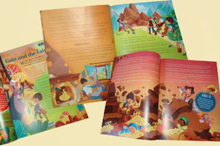 Guto and the Fairies -Storytime magazine n°54 - Février 2019