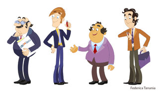 Personnages corporate
