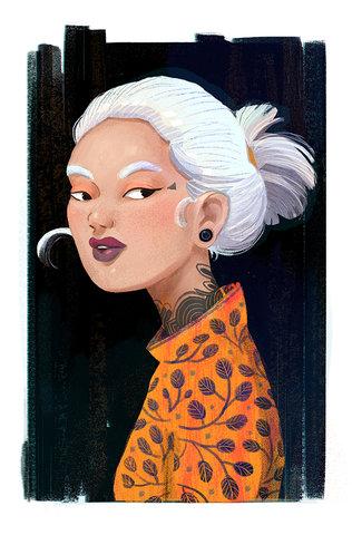 Portrait character design