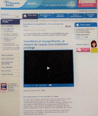 Article sur ameli.fr