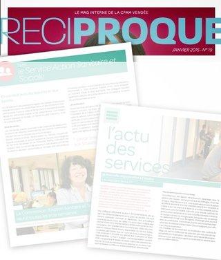 Magazine interne - CPAM 2015 & 2017