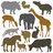 Silhouettes de mammifères