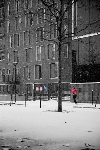Pixel snow - Jogger
