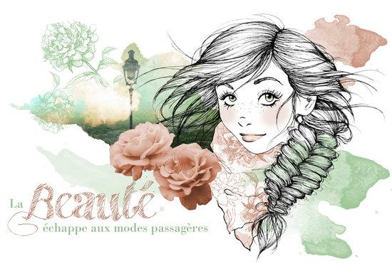Illustration / Concours Lafayette Beauté