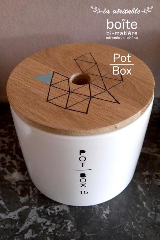 """boîte Pot-Box 15 série """"mailles"""""""