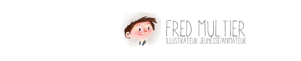 Fred multier illustrateur