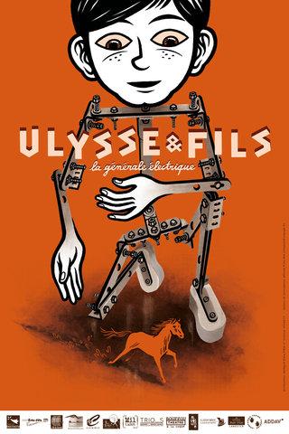 Ulysse & Fils - mise en page affiche, illustration, typographie