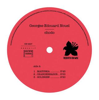 Georges-Edouard Nouel - centreur 33 tours face A - mise en page