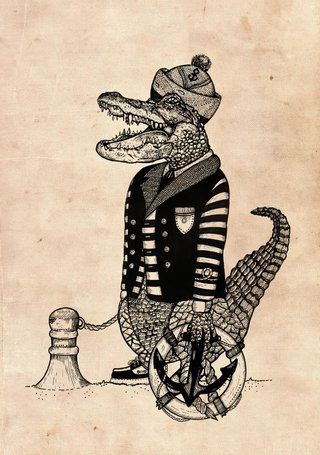 Sailor Alligator