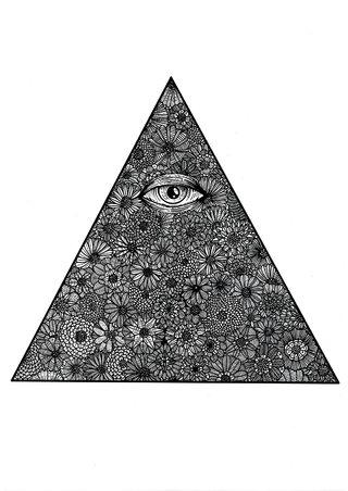 Flowers & Eye.