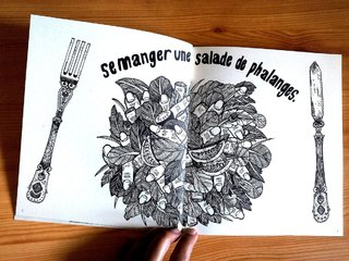 """Se manger une salade de phalanges"""