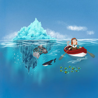 L'iceberg aux milliers de facettes