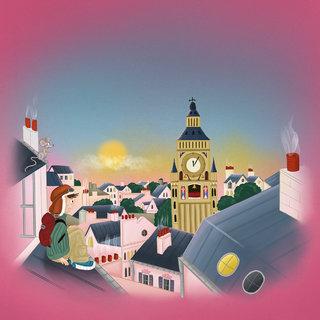 La tour de l'horloge parlante