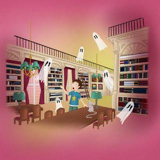 Les fantômes de la bibliothèque