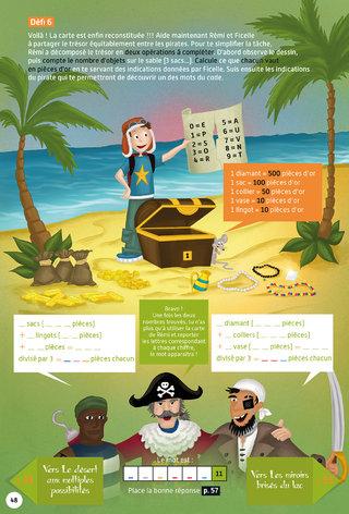 Le trésor des pirates à partager - jeu