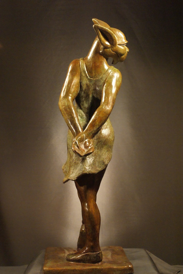 gargouille bronze danceuse<br/><span></span>