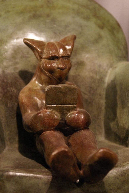 gargouille bronze frédéric vincent sculpteur<br/><span></span>