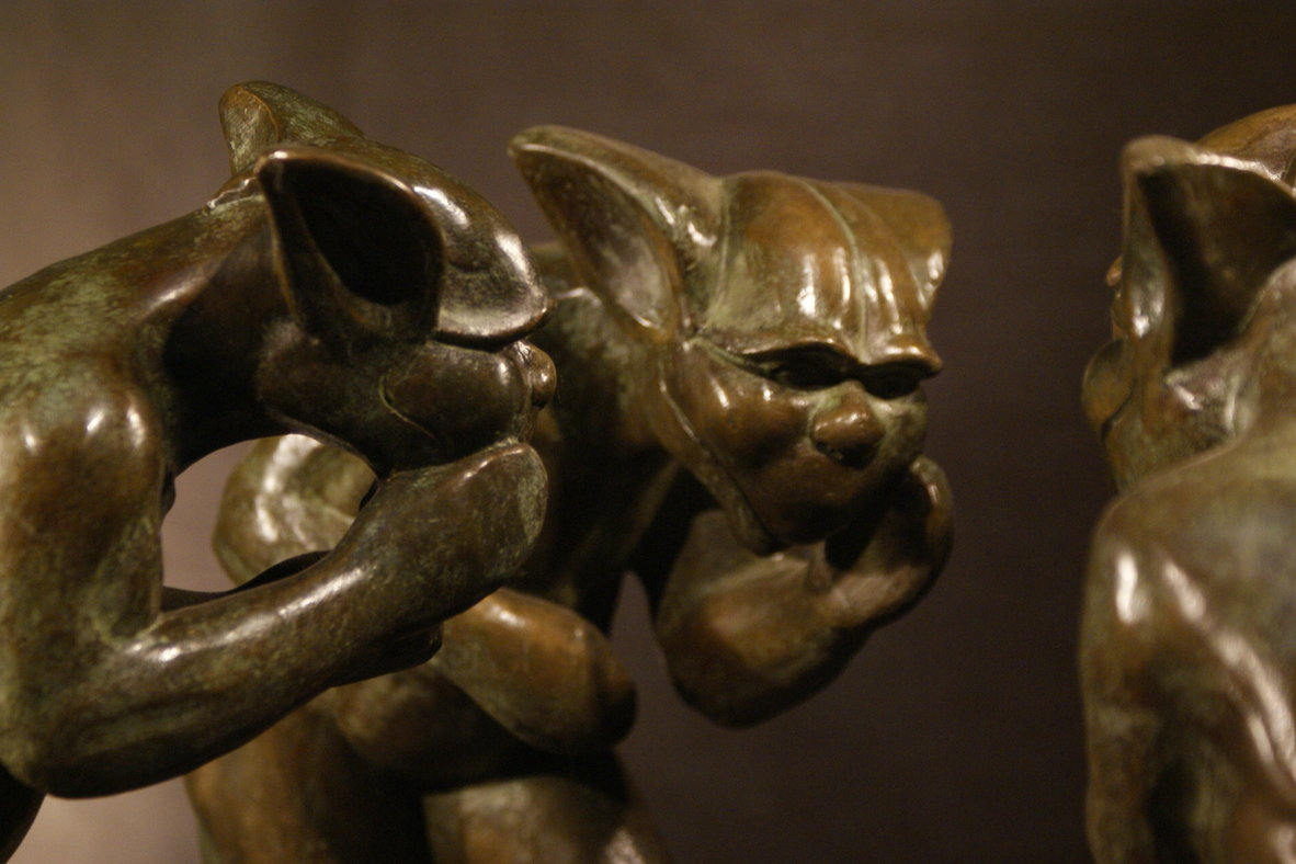 gargouille bronze frédéric vincent<br/><span></span>