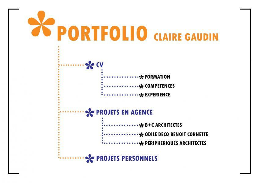 Portfolio Claire Gaudin : Ultra-book
