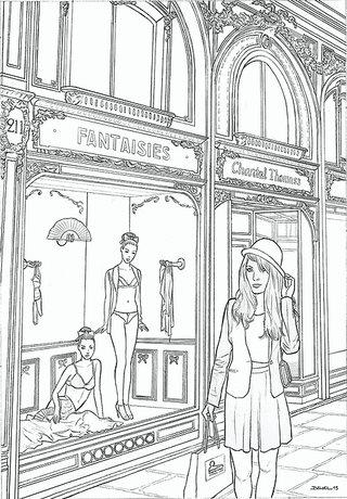 Parisienne chez Chantal Thomass - Geoffrey Beloeil