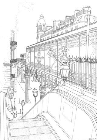 Metro Passy Paris - Geoffrey Beloeil