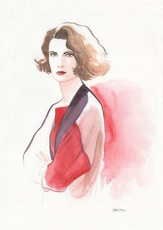 Donna Hayward Twin Peaks - Geoffrey Beloeil