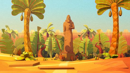 3D Short Film - Les jardins suspendus de Babylone
