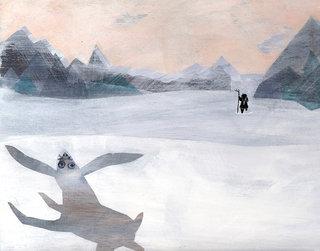 SORCIÈRE BLANCHE - à paraître printemps 2016- éditions A pas de Loups- texte Carl Norac