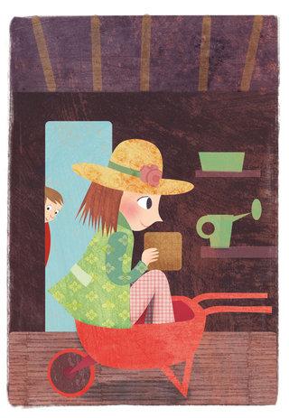 Une jardinerie peu ordinaire. Anne Didier