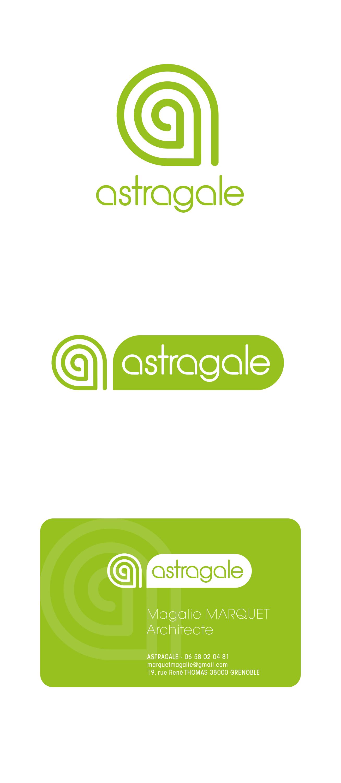 Astragale Architecture_Logo et carte