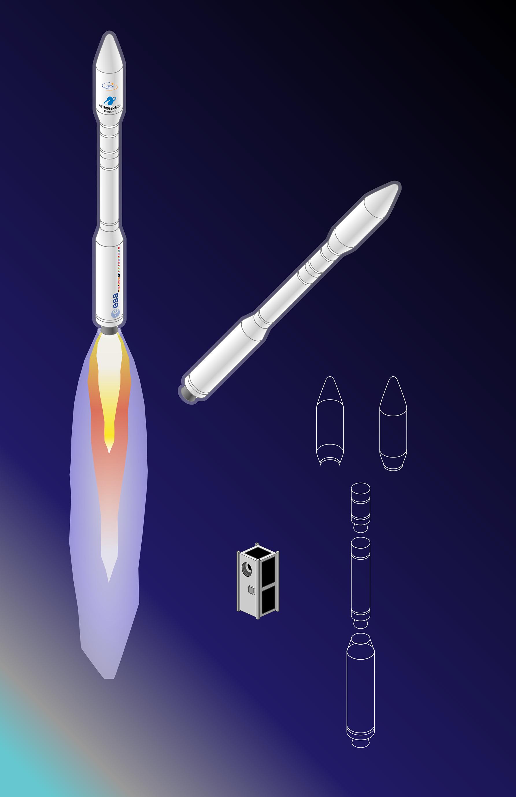 Lancement satellite AMICal Sat