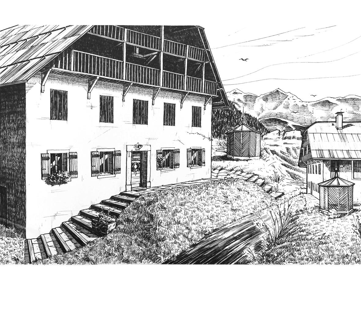 La maison de Haute Savoie