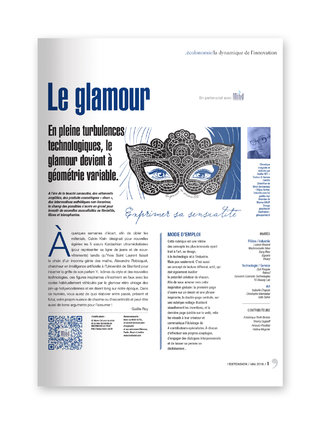 "MIND - magazine L'EXTENSION - Thématique ""GLAMOUR"""