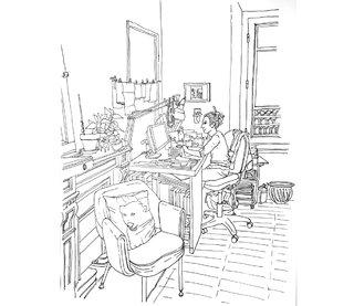 Les bureaux…