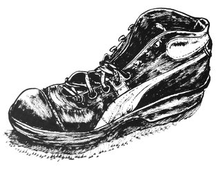 La chaussure…