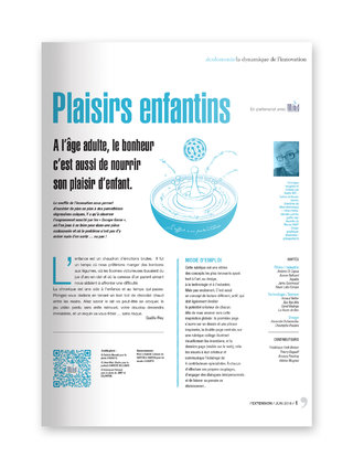 "MIND - magazine L'EXTENSION - Thématique ""PLAISIRS ENFANTINS"""
