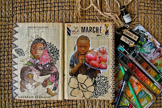 carnet de voyage Ouagadougou (burkina faso)