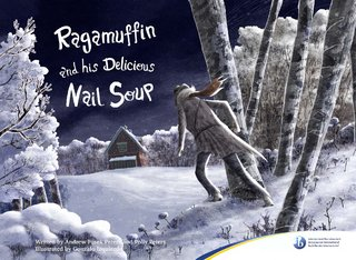 Ragamuffin and his delicious nail soup.
