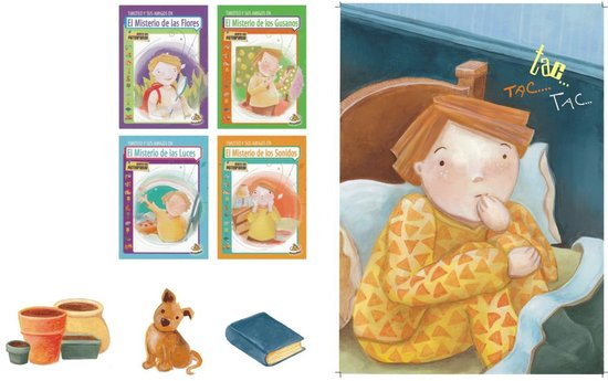 "BOOKS PUBLICATED: ""Timoteo and his friends"" collection, for México and Argentina."