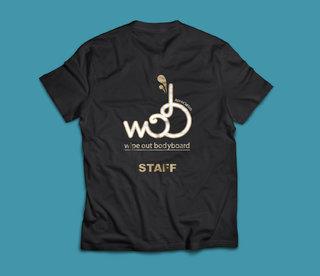 Tee-shirt bénévole - association de bodyboard