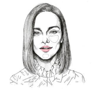 Emilia Clarke illustration