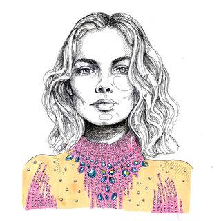Margot Robbie portrait
