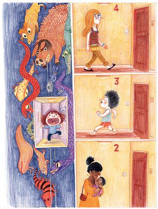 J'aime mes cauchemars, Gallimard Jeunesse Giboulées 2015