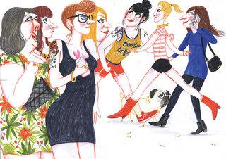Les femmes dans la rue