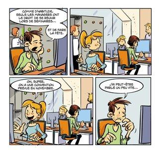 Strip communication