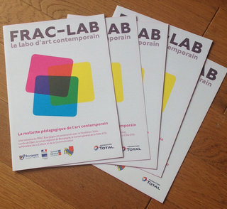 Plaquette présentation Frac-Lab (Frac Bourgogne)